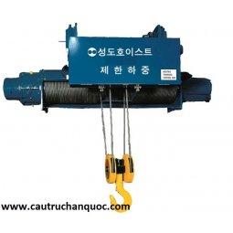Palang cáp điện sungdo 7.5 tấn 12m dầm đôi