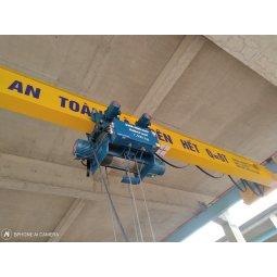 Palang cáp điện DONGYANG 7.5 tấn 9m dầm đơn