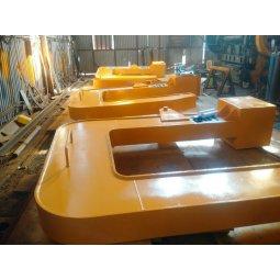 C Hook móc C cẩu cuộn tôn thép 20 tấn